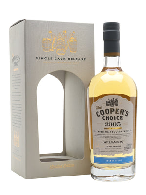Williamson 2005 Islay Blended Malt 12 Year Old The Cooper's Choice Islay Blended Malt Scotch Whisky | 700ML at CaskCartel.com
