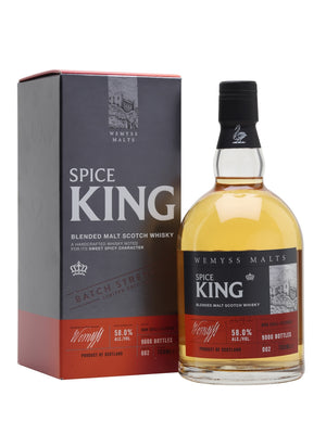 Wemyss Spice King Cask Strength Batch No 002 Blended Malt Scotch Whisky | 700ML at CaskCartel.com