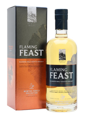 Wemyss Malts Flaming Feast Family Collection Blended Malt Scotch Whisky | 700ML at CaskCartel.com