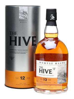 Wemyss Malts The Hive 12 Year Old Blended Malt Scotch Whisky | 700ML at CaskCartel.com