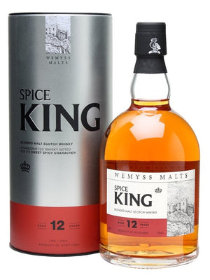 Wemyss Malts Spice King 12 Year Old Blended Malt Scotch Whisky | 700ML at CaskCartel.com