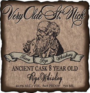 Very Olde St. Nick Ancient Cask 8 Year Old Rye Whiskey