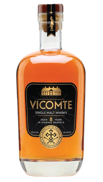 Vicomte 8 Year Single Malt French Whiskey