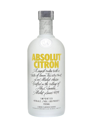 Absolut Citron Vodka - CaskCartel.com