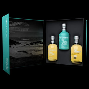 Bruichladdich® Wee Laddie Tasting Collection Gift Set (3) 200ml - CaskCartel.com