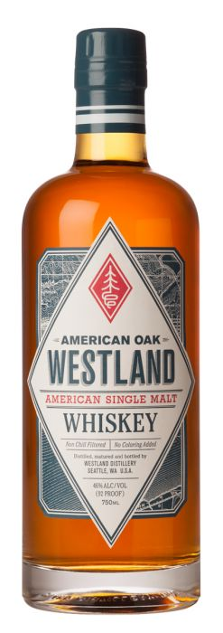 Westland American Oak Single Malt Whiskey - CaskCartel.com