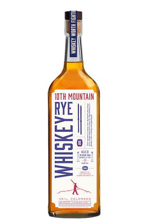 10th Mountain High Rye Whiskey at CaskCartel.com