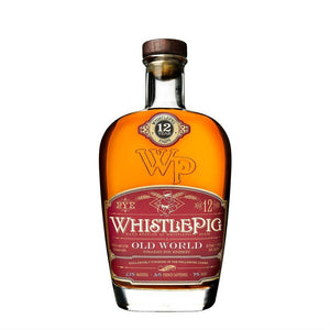 WhistlePig 12 Year Old World Straight Rye Whiskey Marriage