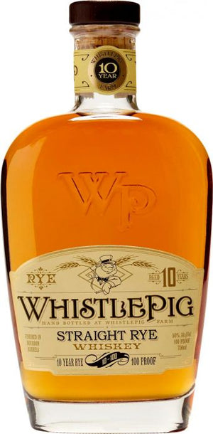 WhistlePig 10 Year Old Straight Rye Whiskey - CaskCartel.com