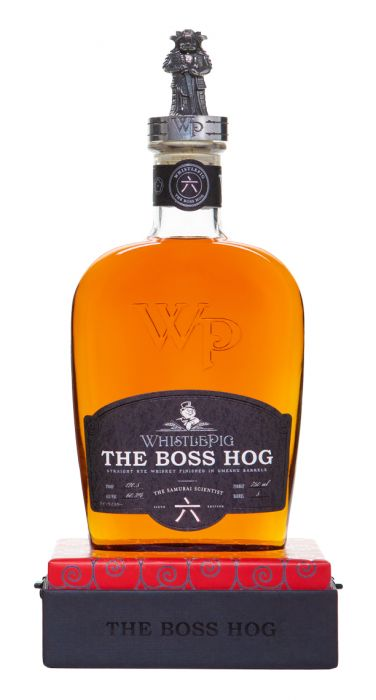 "WhistlePig Boss Hog Edition 六: ""The Samurai Scientist"" - CaskCartel.com"