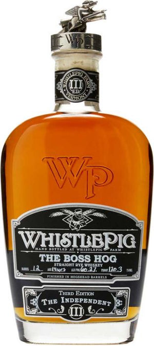WhistlePig The Boss Hog Spirit of Mortimer Straight Rye Whiskey - CaskCartel.com