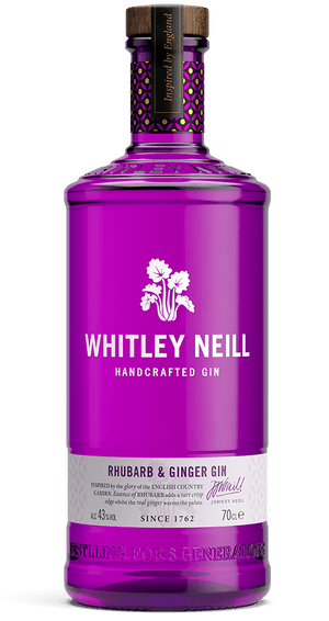 Whitley Neill Handcrafted Rhubarb & Ginger Gin - CaskCartel.com