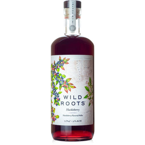 Wild Roots Huckleberry Infused Vodka at CaskCartel.com
