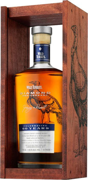 Wild Turkey Diamond Anniversary Kentucky Straight Bourbon Whiskey - CaskCartel.com