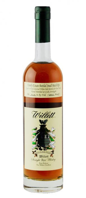Willett Family Estate 4 Year Old Small Batch Straight Rye Whiskey - CaskCartel.com