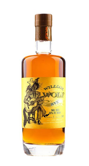 William Wolf Small Batch Rye Whisky - CaskCartel.com