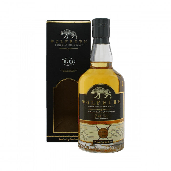 Wolfburn 2014 #694 Dornoch Castle Single Malt Scotch Whisky