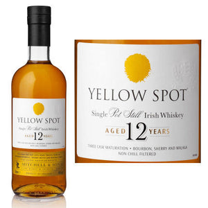 Yellow Spot 12 Year Old Single Pot Still Irish Whiskey CaskCartel.com