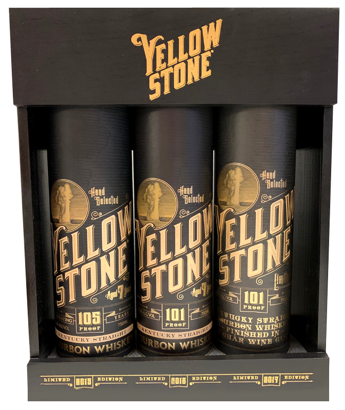 Yellowstone Limited Edition 3-Pack Special Release Trilogy Set