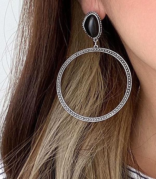 Catoosa Stoned Earrings