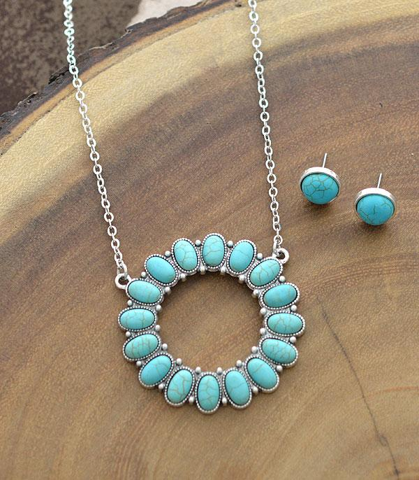 Grove Turquoise Pendant Necklace