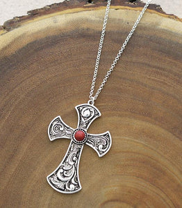 San Miguel Cross Necklace