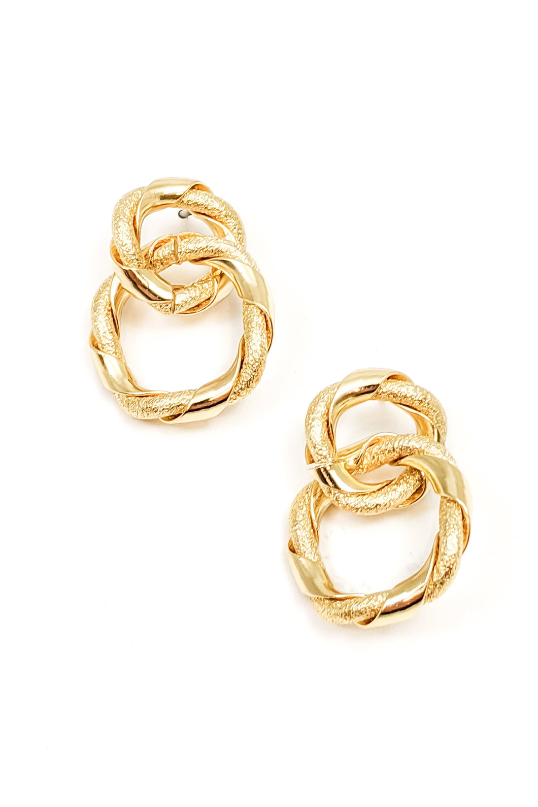 Lexington Gold Knotted Earrings