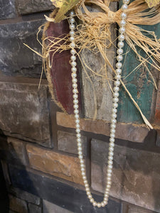 Tulsa Pearl Beaded Necklace