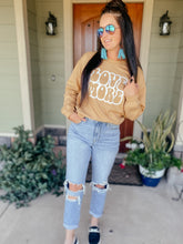 Load image into Gallery viewer, Love More Gold Graphic Sweatshirt