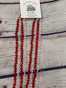 ATHENS LONG CRYSTAL BEADS NECKLACES