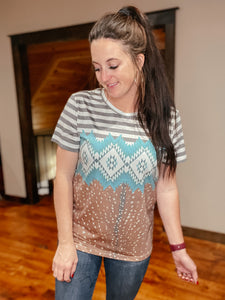 Arlene Aztec Top