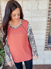 Load image into Gallery viewer, Cora Animal Print Top