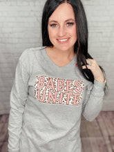 Load image into Gallery viewer, BABES UNITE LONG SLEEVE PLUSH TEE