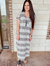 Load image into Gallery viewer, Katy Animal Print Maxi Dress
