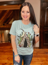 Load image into Gallery viewer, Leopard TeePee Tee