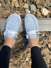 Load image into Gallery viewer, Holly Gray Slip-On Sneakers