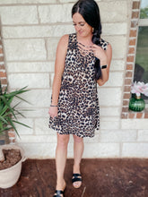 Load image into Gallery viewer, Addison Sleeveless Animal Print Dress
