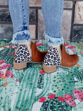 Load image into Gallery viewer, Ally Animal Print Booties