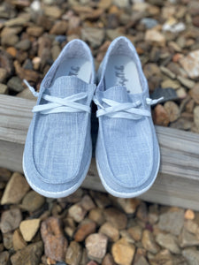 Holly Gray Slip-On Sneakers
