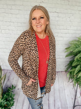 Load image into Gallery viewer, Liz Leopard Print Cardigan