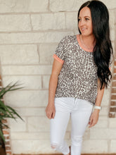 Load image into Gallery viewer, Amelia Animal Print Top