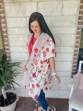 Load image into Gallery viewer, Kara Floral Boho Kimono