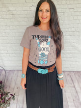 Load image into Gallery viewer, Turquoise Is My Rock Tee
