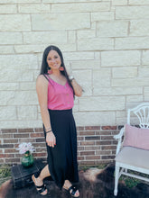 Load image into Gallery viewer, Jasmine Black Boho Maxi Skirt