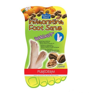 Πήλιγκ ποδιών Purederm foot scrub ''walnut'' - Miss Beauty shop