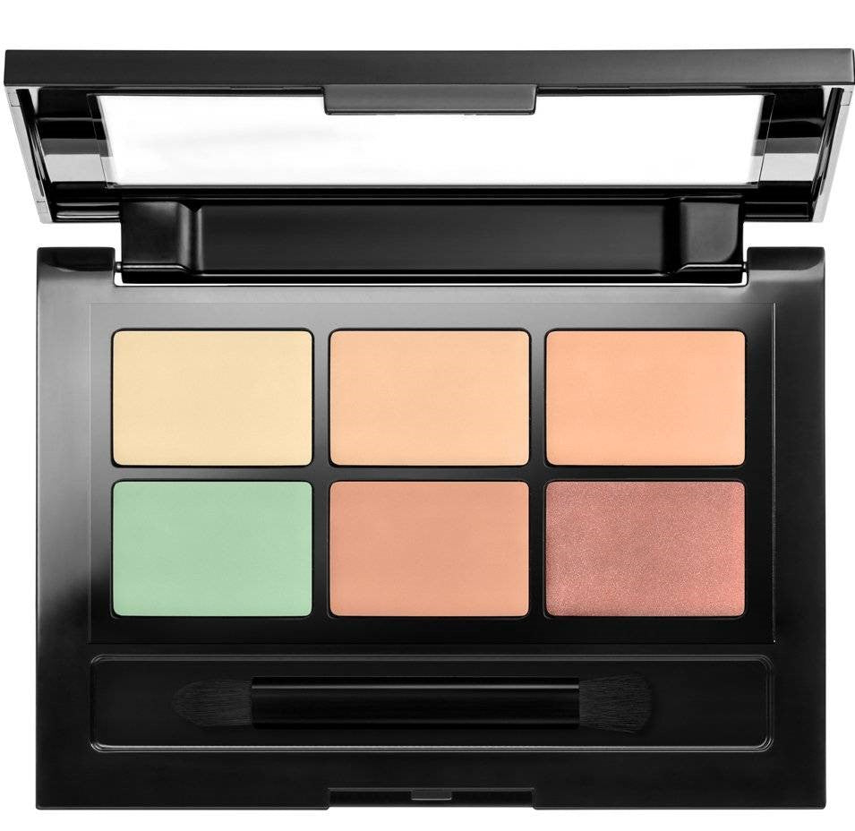Master camo Palette Maybelline Kit Correcting Concealer Light - Miss Beauty shop