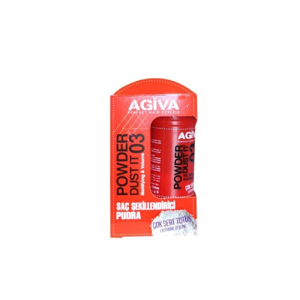 Πούδρα για την ρίζα Agiva Powder Dust Mattifying and Volume 20gr