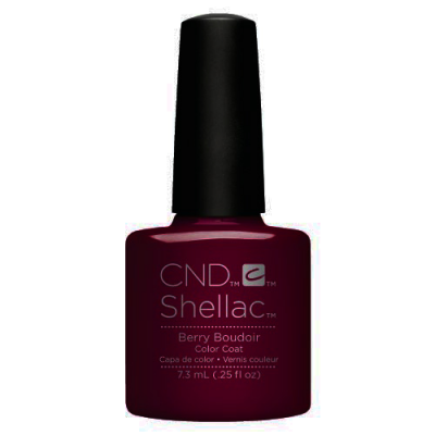 Ημιμόνιμο Βερνίκι Cnd Shellac 7.3ml Berry Boudoir - Miss Beauty shop