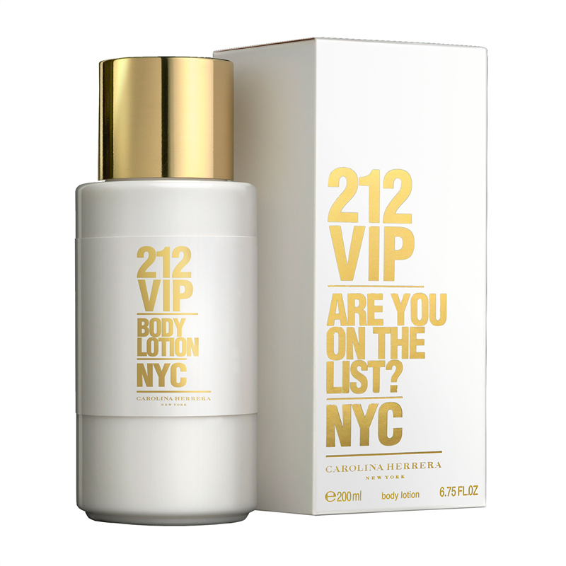 Κρέμα σώματος 212 Vip Carollina Herrera 200ml - Miss Beauty shop