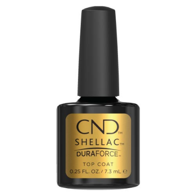 Ημιμόνιμο Βερνίκι Cnd Shellac 7.3ml Top Coat Dura Force - Miss Beauty shop